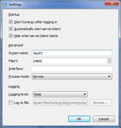 Synergy-PC-Auto-Start